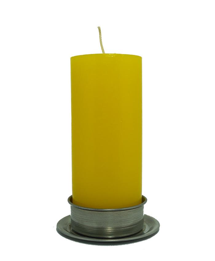 Velón Grande Amarillo