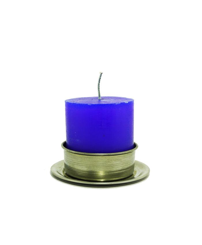 Velón Mediano Azul