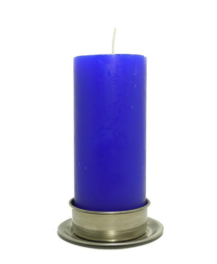 Velón Grande Azul-0