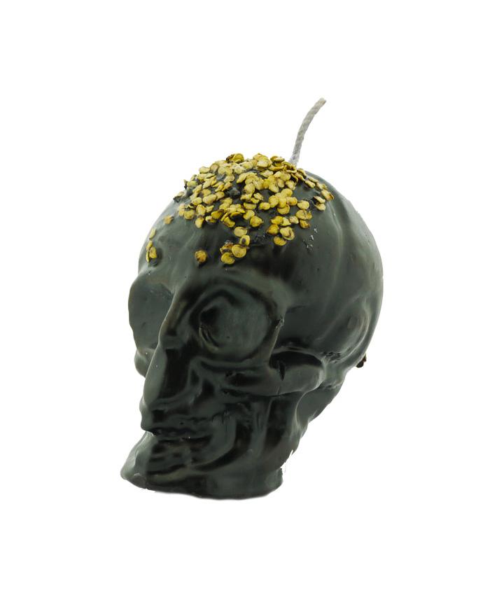 Vela Cráneo Grande Negro