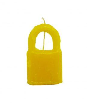 Candado Cierre-Unión Amarillo
