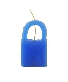 Candado Cierre-Unión Azul