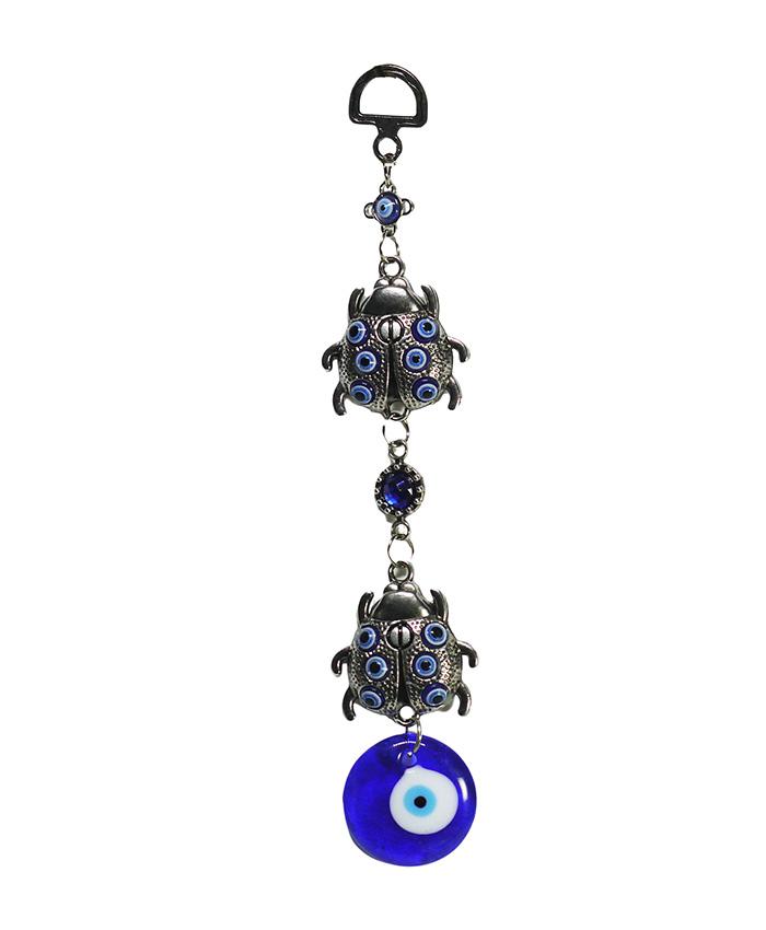 Amuleto Ojo Turco Escarabajo