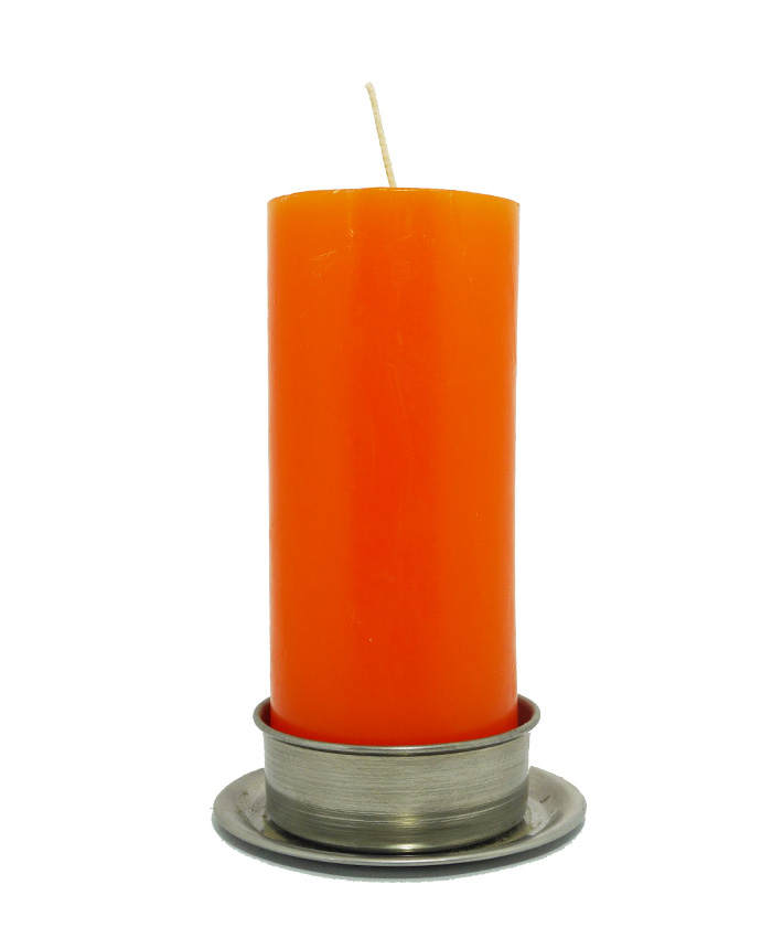 Velón Grande Naranja