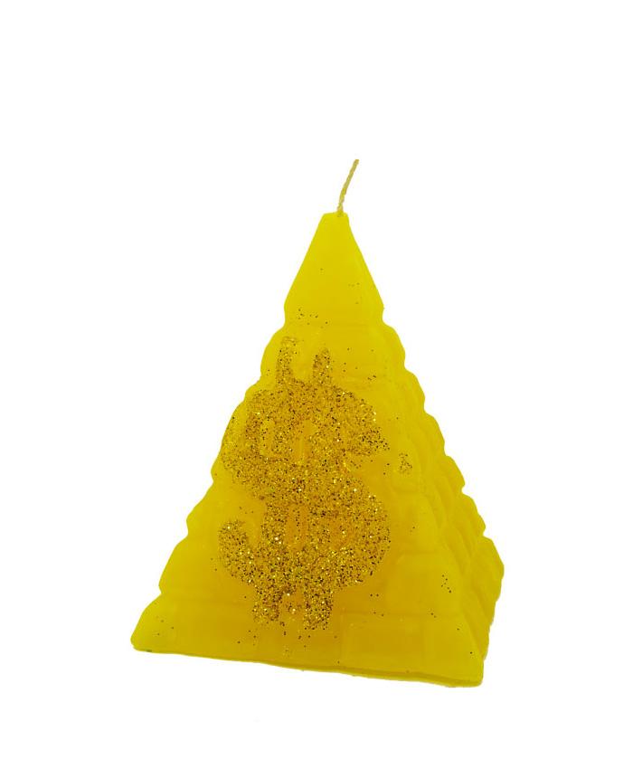 Pirámide Dinero Grande Amarillo