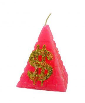 Pirámide Dinero Grande Rosado
