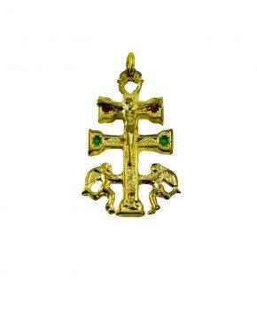 Cruz Caravaca 3.5cm Dorado