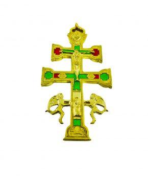 Cruz Caravaca Dorado 10 cm