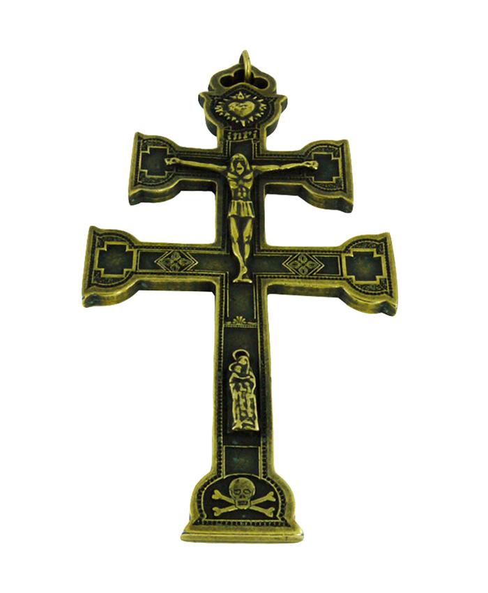 cruz-caravaca-bronce-envejecido-16cm