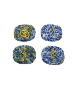 Kit Reiki 4 piedras Sodalita