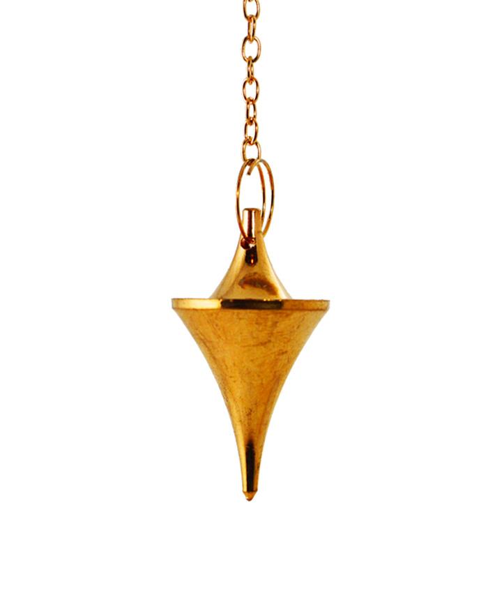 Péndulo Triángulo Cono de Cobre