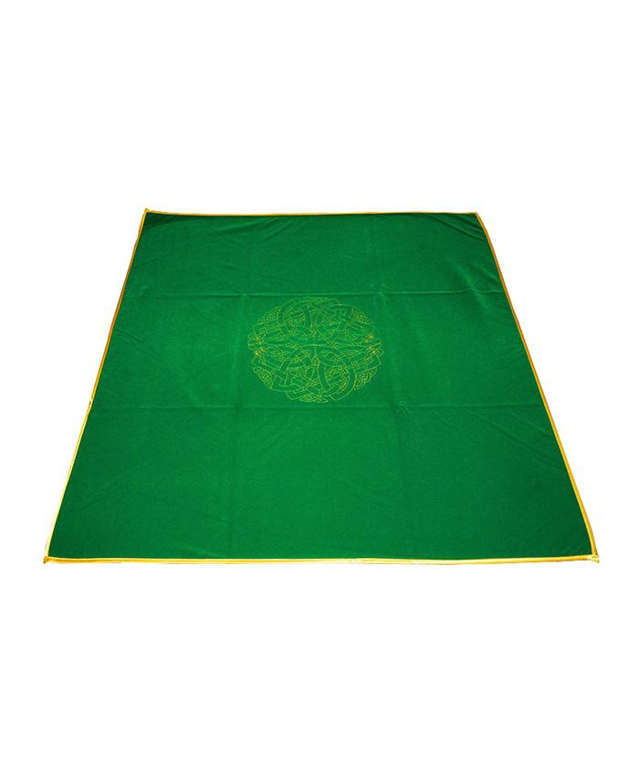 Tapete Laberinto Celtico Verde