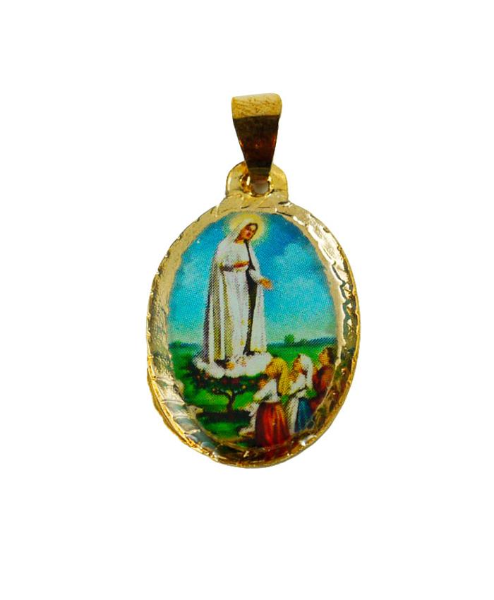 Virgen de Fátima-Medalla