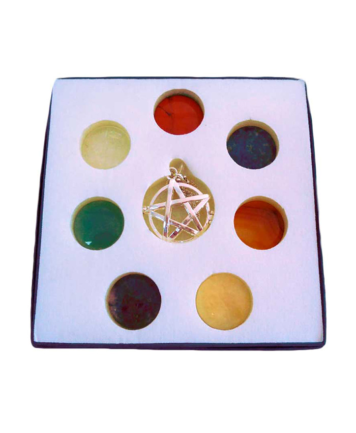 Pentagrama 7 Chakras