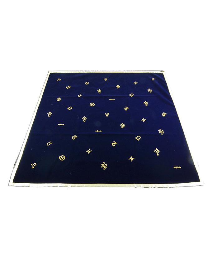 Tapete Tarot Astrología Azul