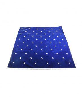 Tapete Tarot Lunas y Estrellas Azul
