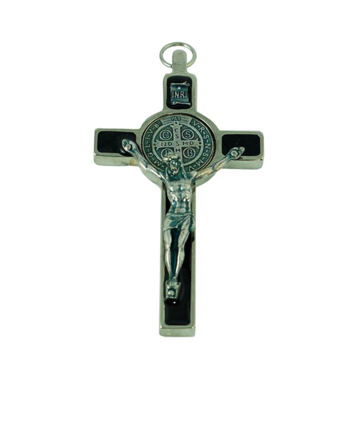 cruz san benito 7.5cm negro