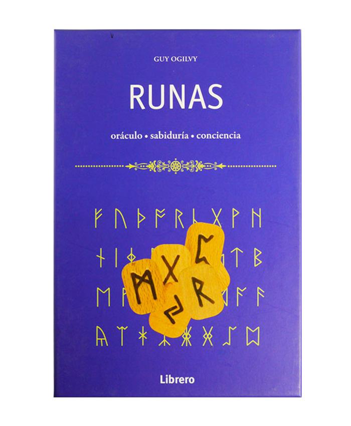 Runas, Libro + 24 runas de madera