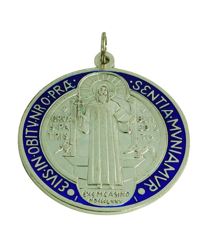 medallon san benito color 10cm