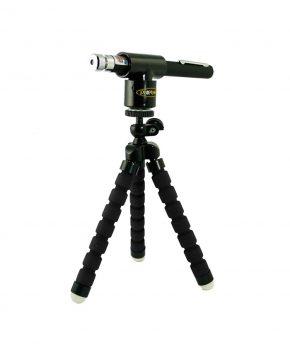 Full Kit Laser + Mini Tripod Negro + Adaptador