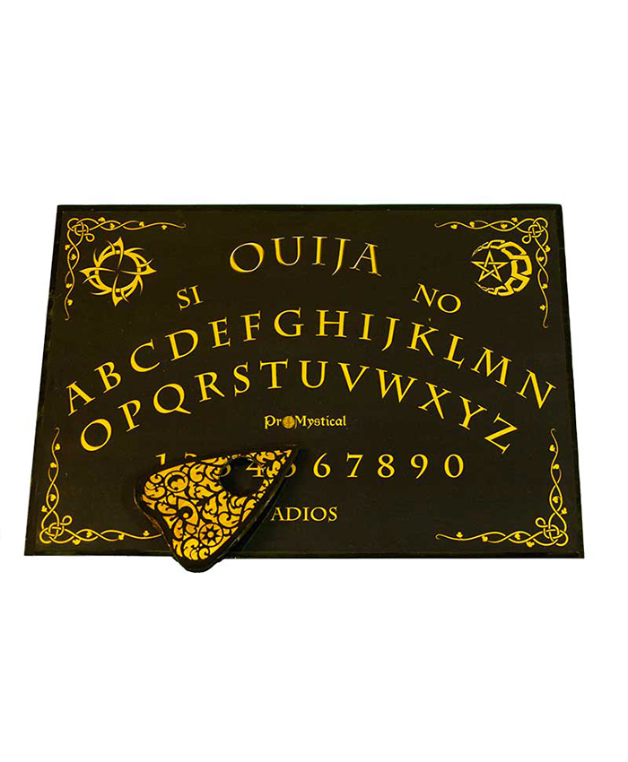 Ouija Rectangular Negro
