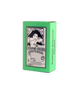 Cigarro Negro Natural Chico (Verde) - 20 unidades